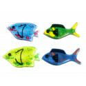Squidgy Sparkle Fish Jelly Shapes - 4er-Set