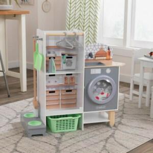 Kidkraft 2-in-1 Küchen- Und Wäschespielset