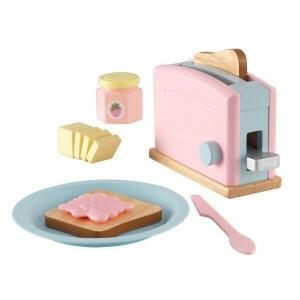 Holz Pastell Toaster Set - Kidkraft (63374)