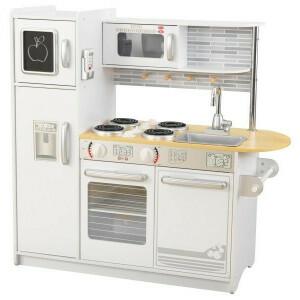 Holz Uptown Küche (weiß) - KidKraft (53364)