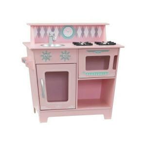 Klassische Küchenzeile (Rosa) - Kidkraft (53383)