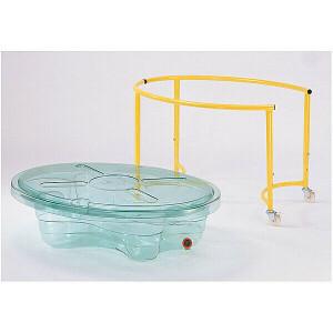 Sand-/Wassertisch, Transparent