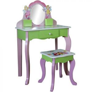 Butterfly Schminktisch mit Hocker - Liberty House Toys (LHT10090)