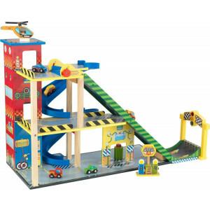 Mega Ramp Rennwagen-Set mit Mega-Rampe - Kidkraft (63267)