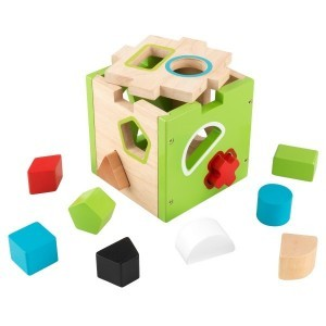 Steckspielwürfel Form-Sortierung - Kidkraft (63247)